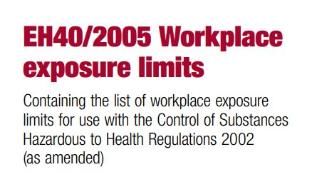 Workplace Exposure Limits (WELs) have changed!